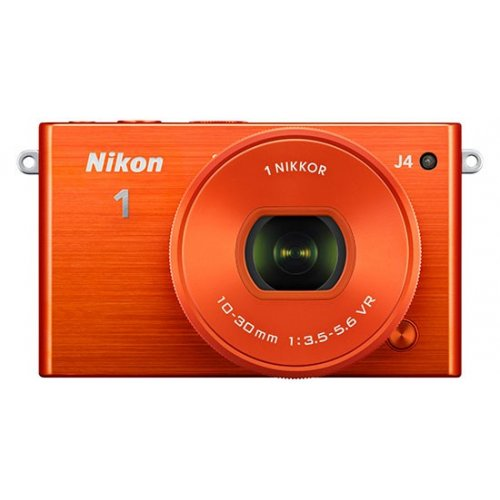 Фото Цифровые фотоаппараты Nikon 1 J4 10–30 PD Kit Orange