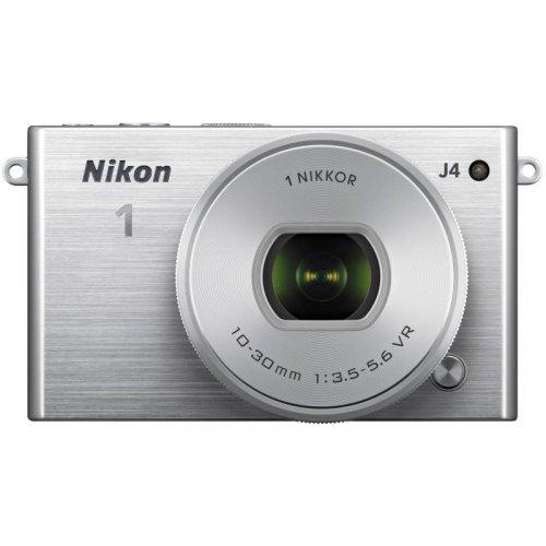Фото Цифровые фотоаппараты Nikon 1 J4 10–30 PD Kit Silver