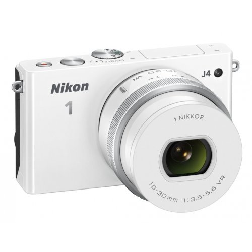 Фото Цифровые фотоаппараты Nikon 1 J4 10–30 PD Kit White