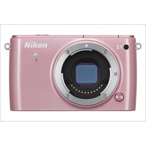 Фото Цифровые фотоаппараты Nikon 1 S1 11-27.5 Kit Rose