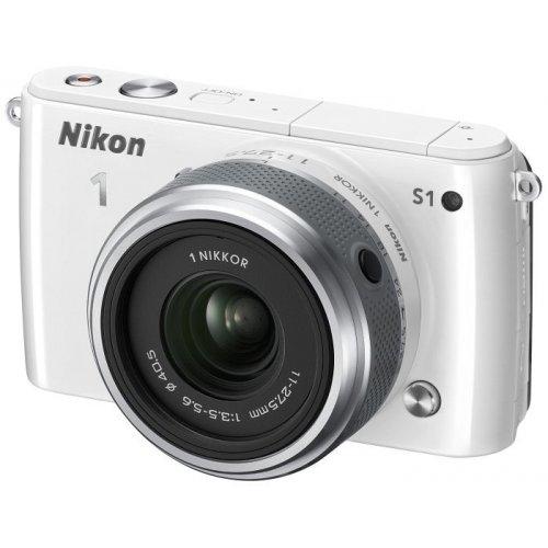 Фото Цифровые фотоаппараты Nikon 1 S1 11-27.5 Kit White