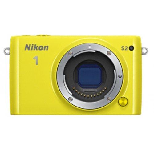 Фото Цифровые фотоаппараты Nikon 1 S2 11-27.5 + 30–110 VR Kit Yellow