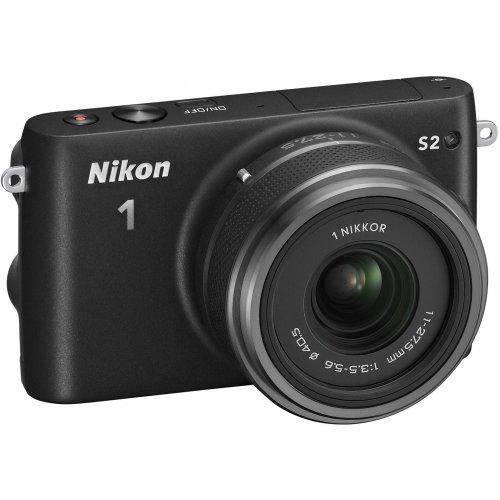 Фото Цифровые фотоаппараты Nikon 1 S2 11-27.5 Kit Black