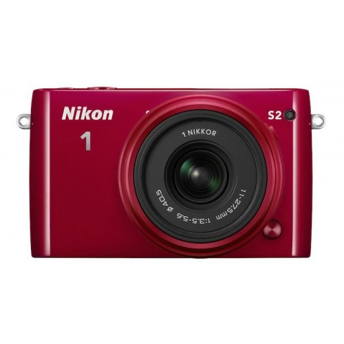 Фото Цифровые фотоаппараты Nikon 1 S2 11-27.5 Kit Red