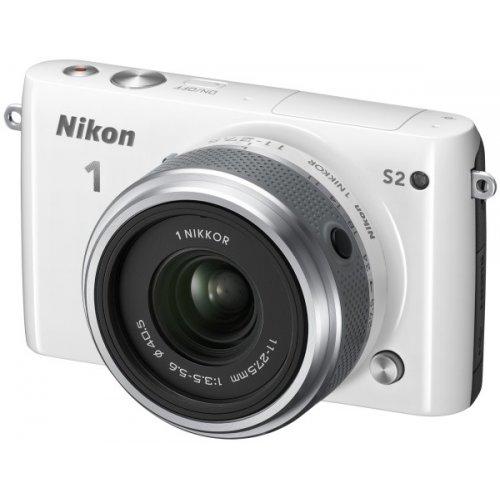 Фото Цифровые фотоаппараты Nikon 1 S2 11-27.5 Kit White