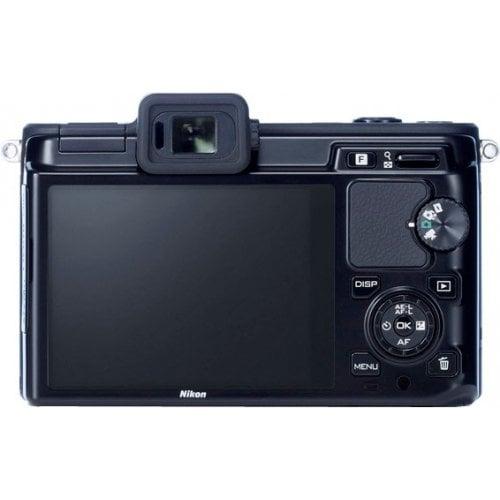 Фото Цифровые фотоаппараты Nikon 1 V1 10 2.8 + 10-30 VR Kit Black