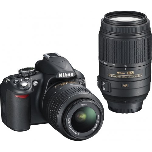 Фото Цифровые фотоаппараты Nikon D3100 18-55 VR + 55-300 VR Kit