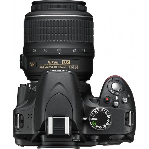 Фото Цифровые фотоаппараты Nikon D3200 18-55 VR + 55-200 Kit