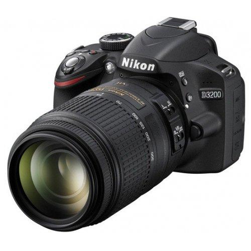 Фото Цифровые фотоаппараты Nikon D3200 18-55 VR + 55-300 VR Kit