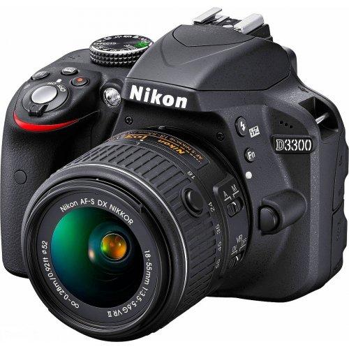 Фото Цифровые фотоаппараты Nikon D3300 18-55 Kit (Официальная гарантия)