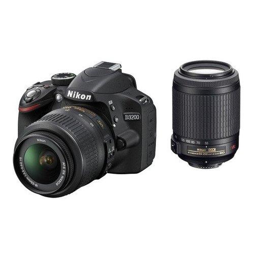 Фото Цифровые фотоаппараты Nikon D3300 18-55 VR II + 55-200 VR Kit