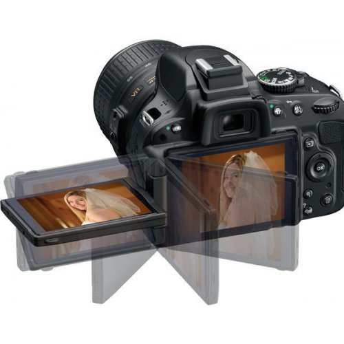 Фото Цифровые фотоаппараты Nikon D5100 18-55 VR + 55-200 VR Kit