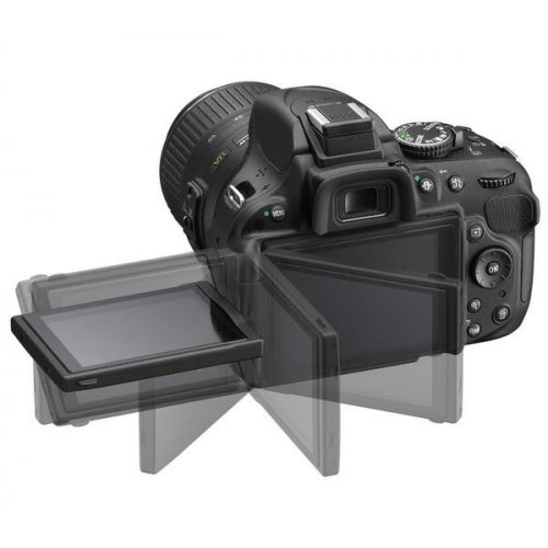 Фото Цифровые фотоаппараты Nikon D5200 18-55 VR + 55-200 VR Kit