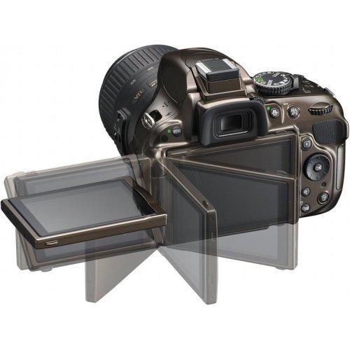 Фото Цифровые фотоаппараты Nikon D5200 18-55 VR II Kit Bronze