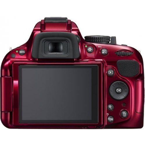 Фото Цифровые фотоаппараты Nikon D5200 18-55 VR Kit Red