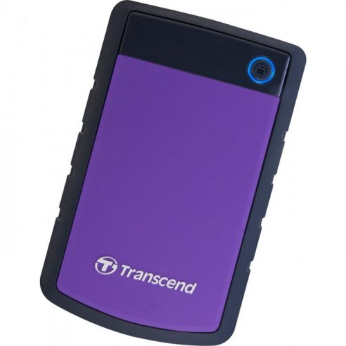 Фото Внешний HDD Transcend StoreJet 25H3P 1TB (TS1TSJ25H3P) Purple