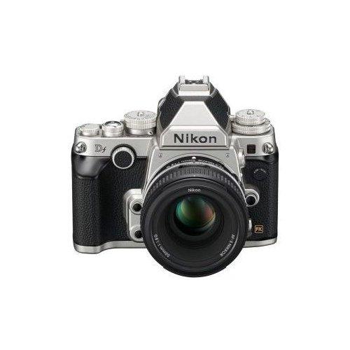 Фото Цифровые фотоаппараты Nikon Df AF-S 50 1.8 Kit Silver