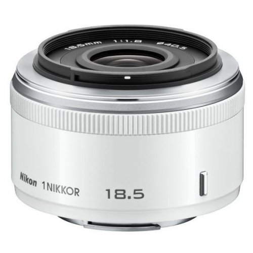 Фото Обьективы Nikon 18.5mm f/1.8 Nikkor 1 White