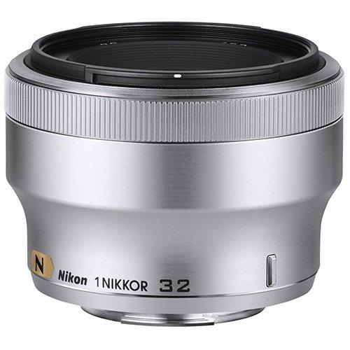 Фото Обьективы Nikon 32mm f/1.2 Nikkor 1 Silver