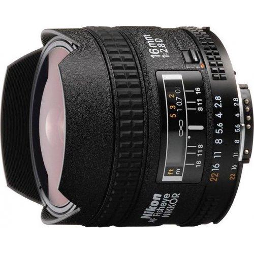 Фото Обьективы Nikon AF 16mm f/2.8D Fisheye-Nikkor