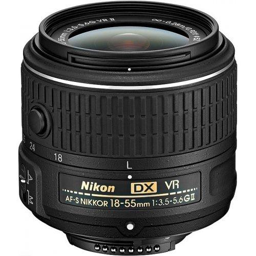Фото Обьективы Nikon AF-S 18-55mm f/3.5-5.6G VR II DX