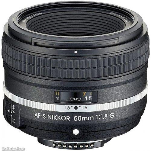Фото Обьективы Nikon AF-S 50mm f/1.8G (Df)