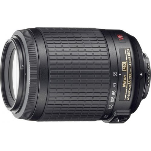 Фото Обьективы Nikon AF-S 55-200mm f/4-5.6G IF-ED VR DX