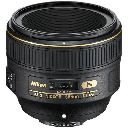 Фото Обьективы Nikon AF-S 58mm f/1.4G