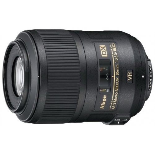 Фото Обьективы Nikon AF-S 85mm f/3.5G ED VR Micro-Nikkor DX