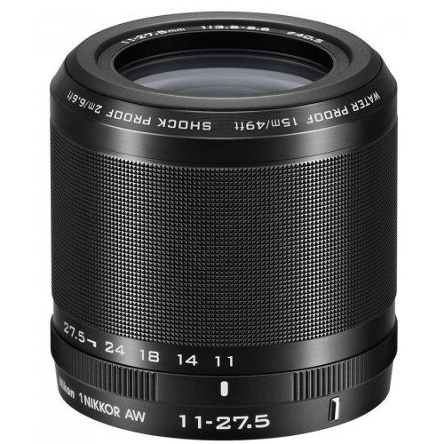 Фото Обьективы Nikon AW 11-27.5mm f/3.5-5.6 Nikkor 1 Black