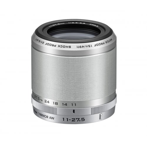 Фото Обьективы Nikon AW 11-27.5mm f/3.5-5.6 Nikkor 1 Silver