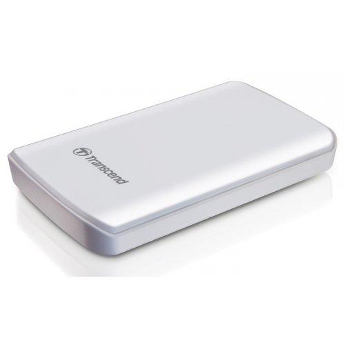Фото Внешний HDD Transcend StoreJet 25D2 500GB (TS500GSJ25D2-W) White