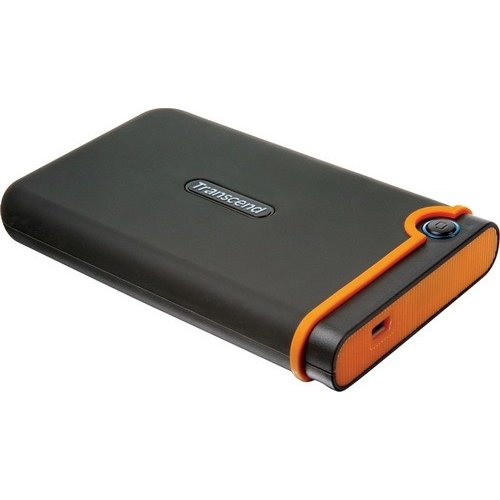 Фото Внешний HDD Transcend StoreJet 25M2 640GB (TS640GSJ25M2) Black/Yellow