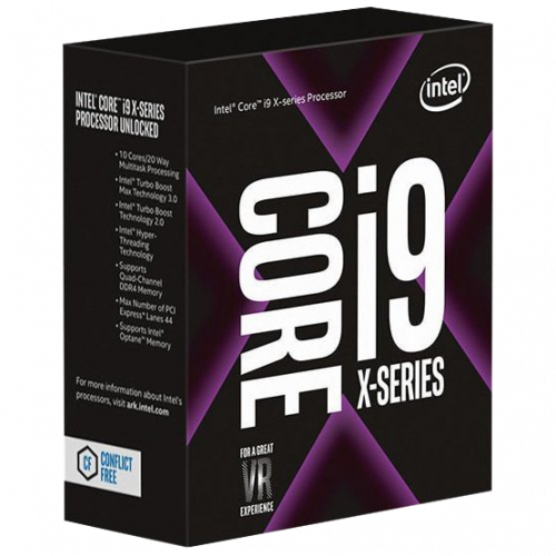 Фото Процессор Intel Core i9-10940X 3.3(4.6)GHz 19.25MB s2066 Box (BX8069510940X)