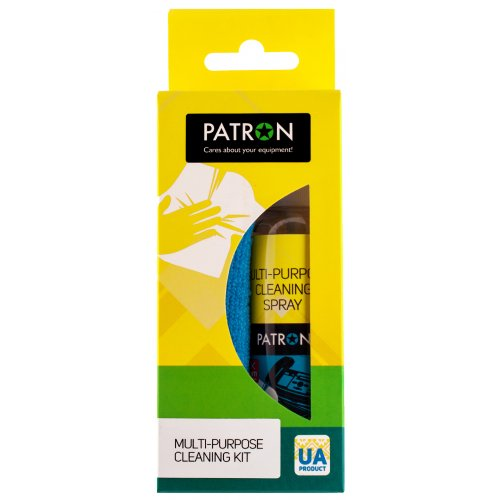 Фото Набір для чищення PATRON 2 in 1 Cleaning Kit for technique 100ml + 1 Cloth (F3-018)