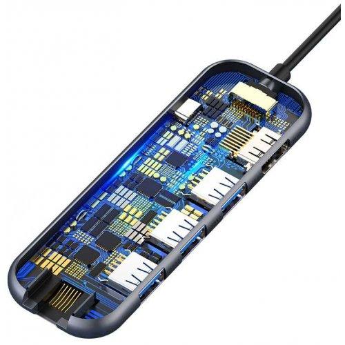 Фото USB-хаб Baseus Multi-functional (CAHUB-DZ0G) Dark Grey