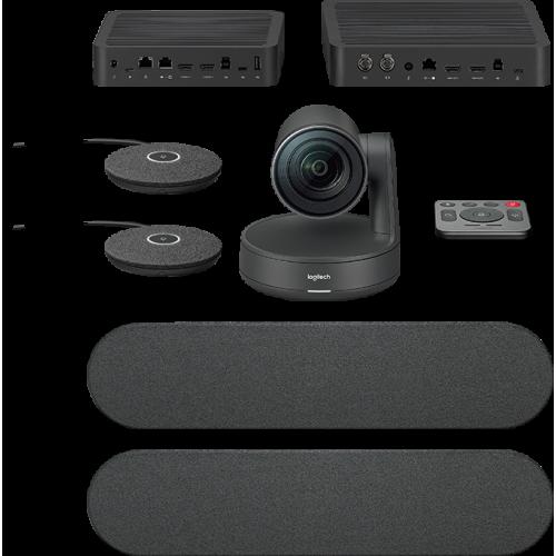 Фото Веб-камера Logitech Rally Plus Ultra-HD Dual Speaker ConferenceCam (960-001224)