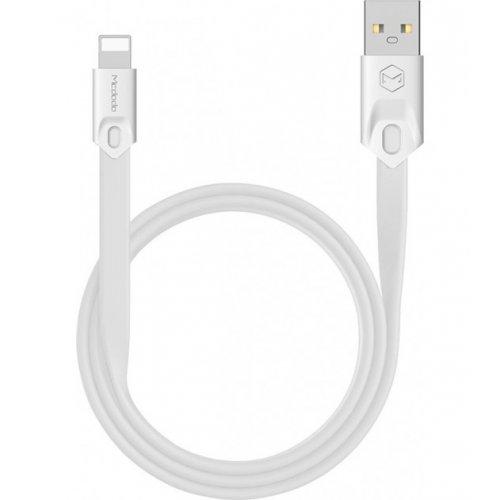 Фото USB Кабель McDodo Gorgeous Series USB to Lightning 2A 1m Data/Charge (CA-0313) White