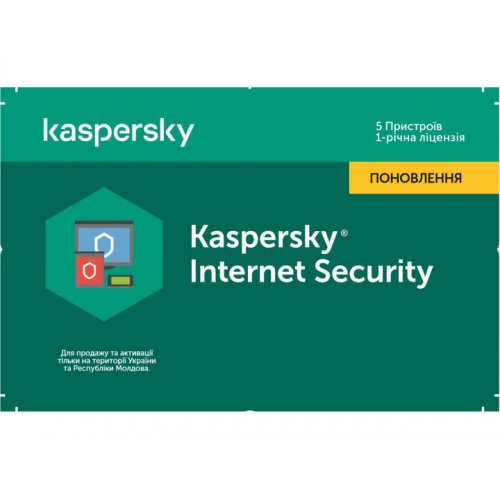 Фото Kaspersky Internet Security Multi-Device 2020 5 Device 1 year Renewal Card (5056244903374)