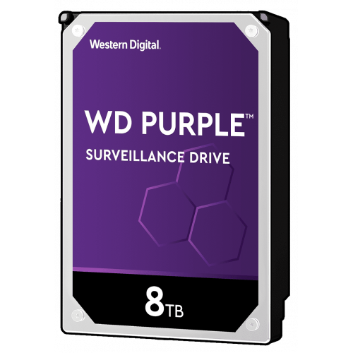 Фото Жесткий диск Western Digital Purple Surveillance 8TB 256MB 7200RPM 3.5