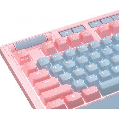 Фото Игровая клавиатура Asus ROG Strix Flare Cherry MX RGB (90MP00M0-B0UA04) Pink
