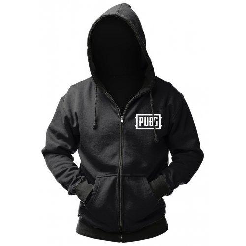 Одежда, GAYA PUBG Zip-Up Logo XXL (GE6275XXL) Black  - купить со скидкой