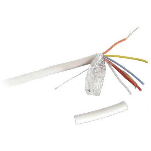 Фото Кабель Cablexpert Alarm cable 100m Cu (AC-6-001-100M) White