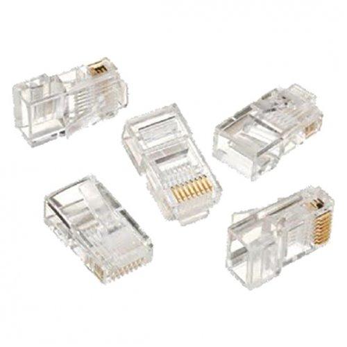 Купить Кабели и аксессуары для сетей, Cablexpert RJ45 8P8C 30u 10(LC-8P8C-001/100)