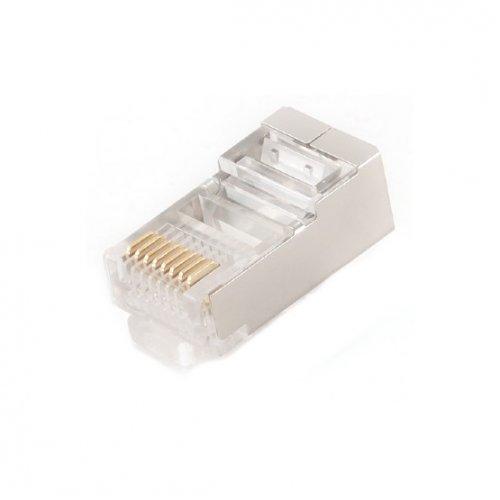 Купить Кабели и аксессуары для сетей, Cablexpert RJ45 8P8C cat5E 6u 10(PLUG3UP6/100)