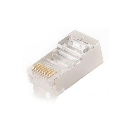Купить Кабели и аксессуары для сетей, Cablexpert RJ45 8P8C cat5E 6u 10(PLUG5SP/100)