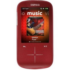 Фото SanDisk Sansa Fuze+ 4GB Red