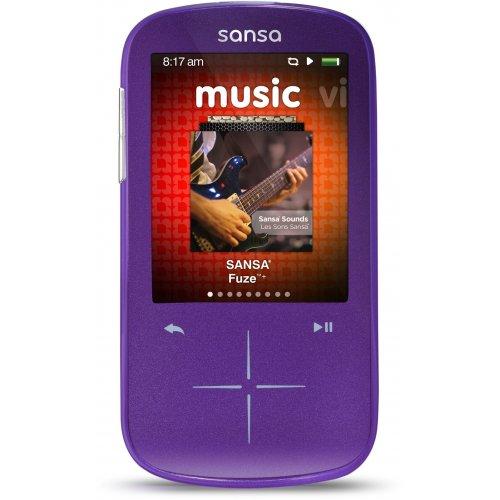 Фото SanDisk Sansa Fuze+ 8GB Purple