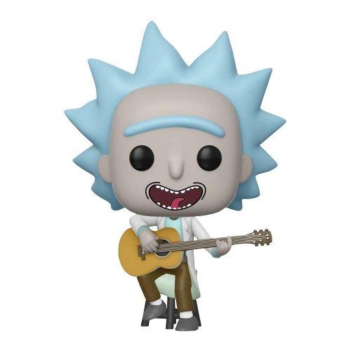 Фото Коллекционная фигурка Funko Pop! Рик и Морти: Рик с гитарой (34215)
