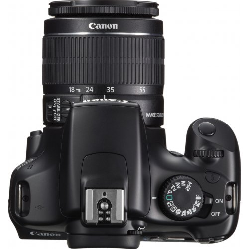 Фото Цифровые фотоаппараты Canon EOS 1100D 18-55 IS II Kit Gray